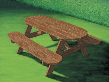 Outdoor Furniture Plan, 072X-0104
