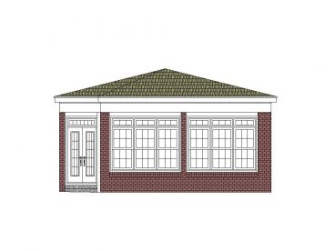 Sun Room Addition Plan, 006X-0021