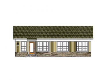 Sun Room Addition Plan, 006X-0031