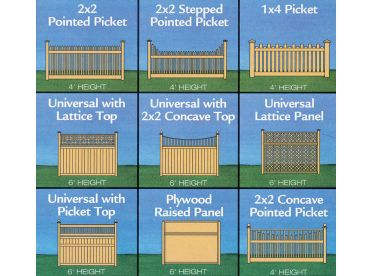 Fence Plans, 047X-0037