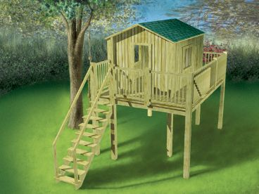 Playhouse Plan, 072X-0057