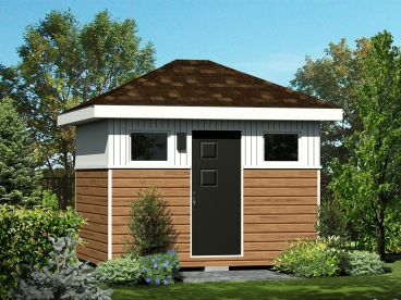 Multiple-Size Shed Plan, 072S-0025