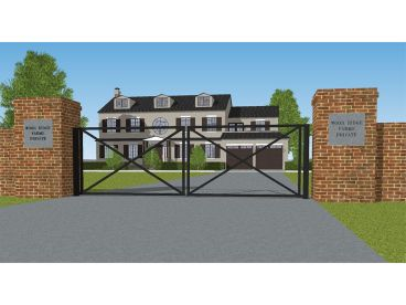 Residential Entry Gate Plan, 062X-0003