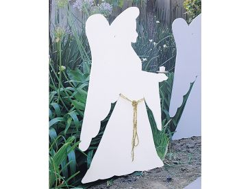 Christmas Angel Silhouette, 077X-0057