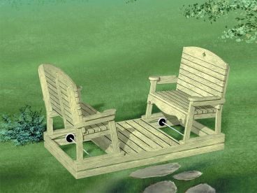 Outdoor Furniture Plan, 072X-0113