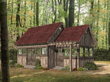 Shed & Workshop Plan, 062S-0001