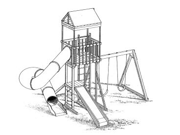 Play Structure Plan, 057X-0042