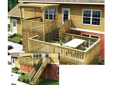 Split Level Deck Plan, 047X-0007