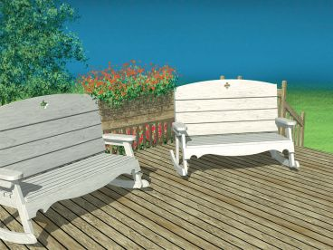 Outdoor Furniture Plan, 072X-0110