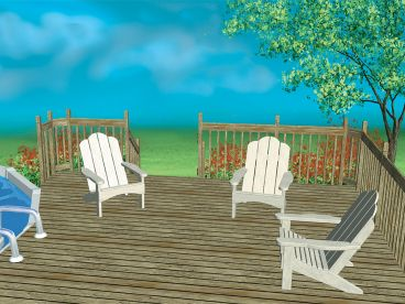Outdoor Furniture Plan, 072X-0108