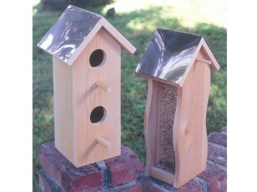 Birdhouse & Feeder Plan, 077X-0096