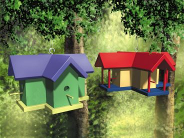 Birdhouse Plan, 072X-0094