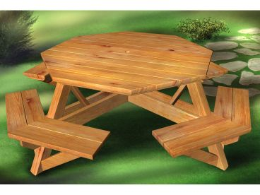 Outdoor Furniture Plan, 072X-0117