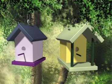 Birdhouse Plan, 072X-0093