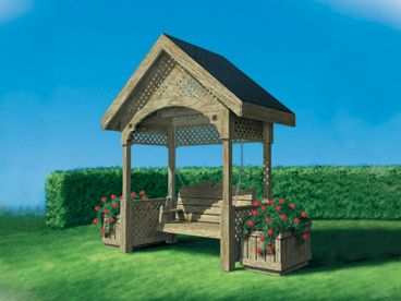 Outdoor Furniture Plan, 072X-0103