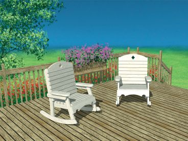 Outdoor Furniture Plan, 072X-0111