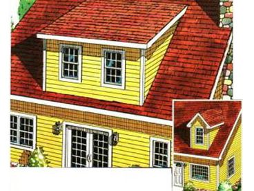 Dormer Addition Plan, 047X-0031