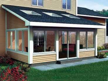 Sun Room Addition Plan, 047X-0020