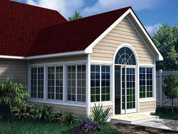 Sun Room Addition Plan, 047X-0021