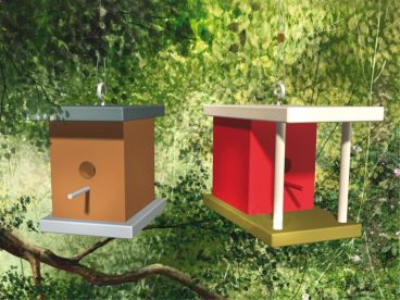 Birdhouse Plan, 072X-0091