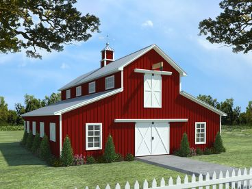 Outbuilding & Horse Barn Plans