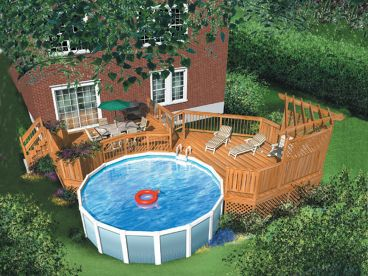 Hot Tub & Pool Deck Plans