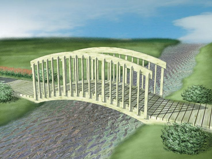 Foot Bridge Plan, 072X-0098