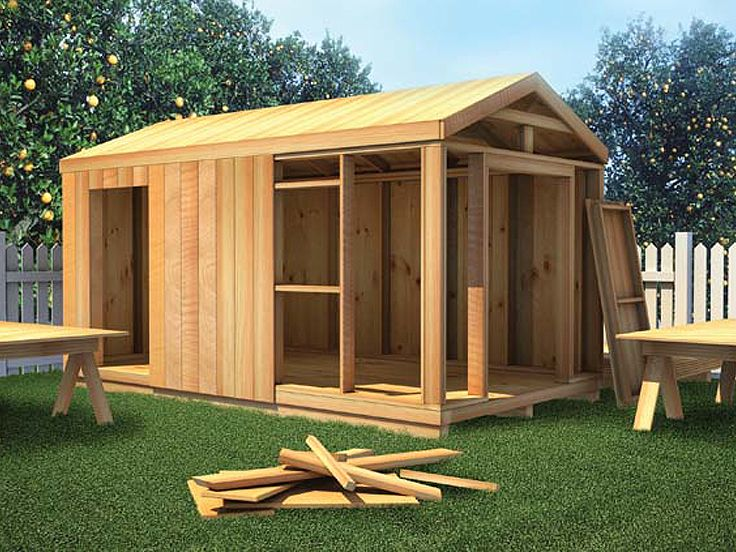 How-to-Build a Shed, 047S-9999