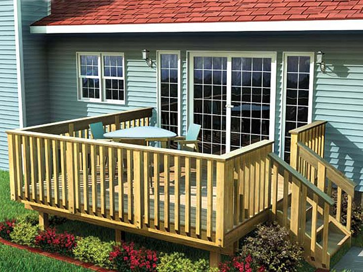 Easy Raised Deck Plan, 047X-0003