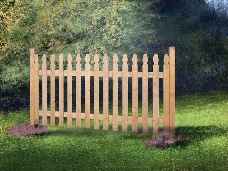 Picket Fence Plan, 072X-0081