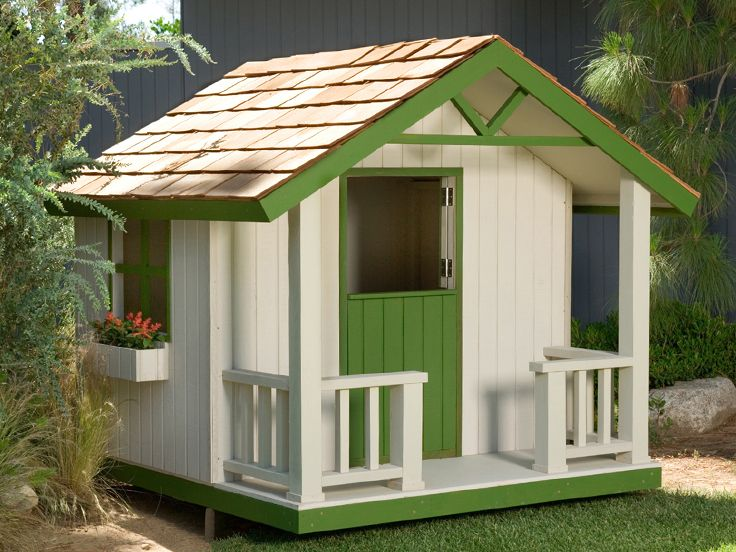 Phenomenal Playhouse Plans Cottage Playhouse Plan 077X 0103 At Interior Design Ideas Clesiryabchikinfo